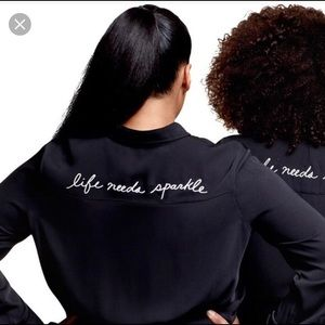 """Trace Ellis Ross for JCP """"Life Needs Sparkle"""" top"""